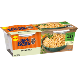 Photo of Uncle Bens Rice Cup Brn2x125gm