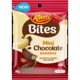 Photo of Allen's Bites Mini Chocolate Bananas 120g