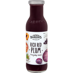 Photo of Barkers Sauce Rich Red Plum 325gm