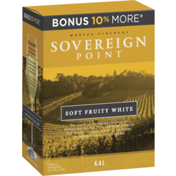 Photo of Sovereign Point Soft Fruity White