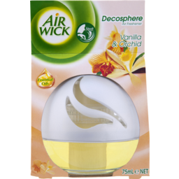 Photo of Air Wick Deco Sphere Balancing Vanilla & Orchid 75ml