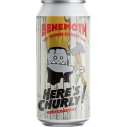Photo of Behemoth Here's Churly Ipa 440ml