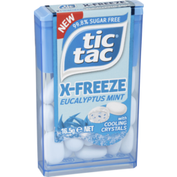 Photo of Tic Tac X-Freeze 99.8% Sugar Free Eucalyptus Mints