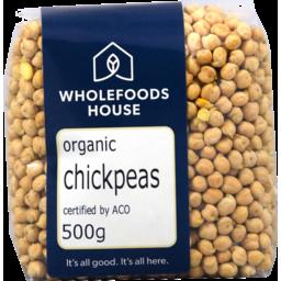 Photo of Wholefoods House Chickpeas Organic 500g