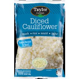 Photo of Taylors Farm Diced Cauliflower 400g