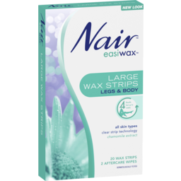 Photo of Nair Easiwax Large Wax Strips 20 Pack