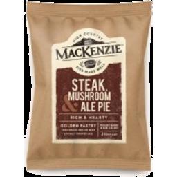 Photo of Mackenzie Pie Steak, Mushroom & Ale 210g