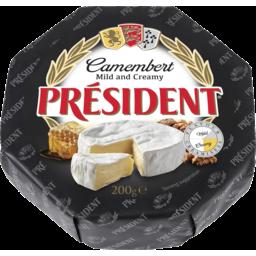Photo of President Camembert 200g