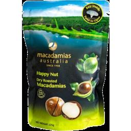 Photo of Yummy Dry Roasted Shell Macadamias 225g