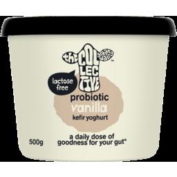 Photo of The Collective Probiotic Kefir Yoghurt Vanilla 500g