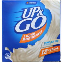 Photo of Up&Go Liquid Breakfast Vanilla Ice 12x250ml