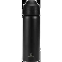Photo of ecococoon Stainless Steel Bottle - Black Messenger