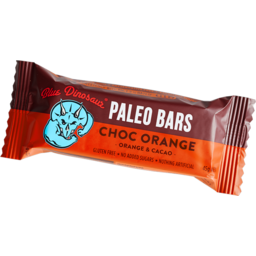 Photo of Blue Dinosaur Paleo Bars Choc Orange 45g