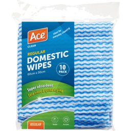 Photo of Ace Domestic Wipes 10 Pack