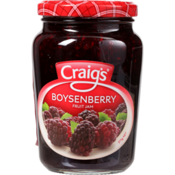 Photo of Craig's Jam Boysenberry 375g