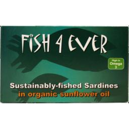 Photo of Fish 4 Ever Yellowfin Tuna in Sunflower Oil 120g
