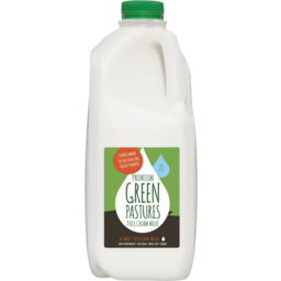 Photo of Green Pastures Full Cream  Milk 2 litre