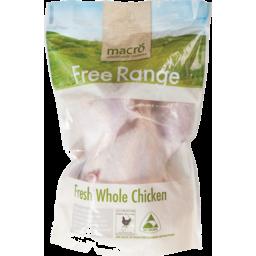 Photo of Macro Whole Free Range Chicken (per kilo)