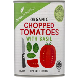 Photo of Ceres Organics Organic Chopped Tomatoes with Basil