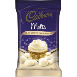 Photo of Cadbury Baking Chocolate Melts White 225gm