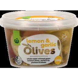 Photo of WW Olives With Lemon & Garlic 200g