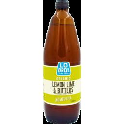 Photo of Lo Bros Kombucha Lemon Lime & Bitters 750ml
