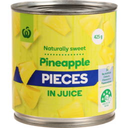 Photo of WW Pineapple Pieces In Juice 425g