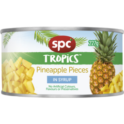 Photo of Spc Tropics Pineapple Pieces In Syrup 227g
