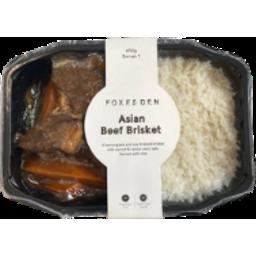 Photo of Foxes Den Beef Brisket & Rice 450gm