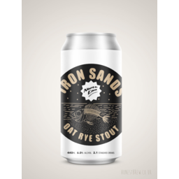 Photo of North End Iron Sands Oat Rye Stout 440ml