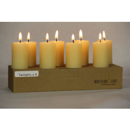 Photo of Northern Light Candles (Beeswax) - Twilight