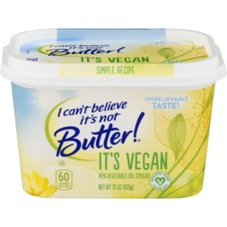 Photo of I Can't Believe It's Not Butter! It's Vegan 45% Vegetable Oil Spread