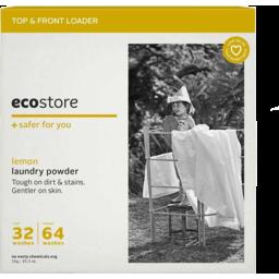 Photo of Eco Store Laundry Powder - Lemon