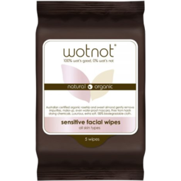 Photo of Wotnot Facial Wipes 25's 5pk