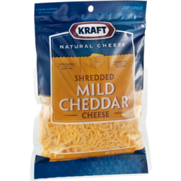 Photo of Kraft Shredded Mild Cheddar Cheese