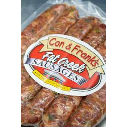 Photo of CON & FRANKS FAT GREEK SAUSAGES 500-800G