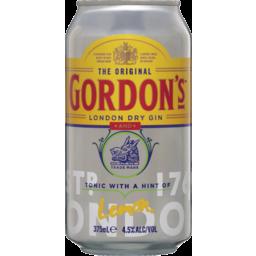 Photo of Gordon's Gin & Tonic  Can