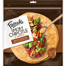 Photo of Wraps Farrah's Smoky Chipotle 6 Pack