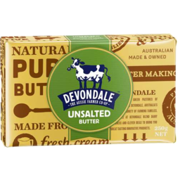 Photo of Devondale Unsalted Butter 250gm