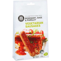 Photo of Bean Supreme Rosemary, Sage & Parsley Vegetarian Sausages 300gm
