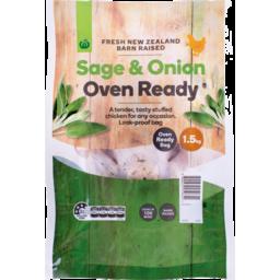 Photo of WW Chicken Oven Ready Sage & Onion No 16