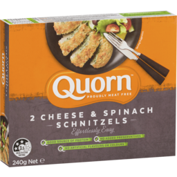 Photo of Quorn Cheese & Spinach Schnitzels 240g