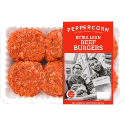Photo of Peppercorn Burger Beef 570gm