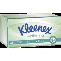 Photo of Kleenex Facial Tissue Eucalyptus 95pk