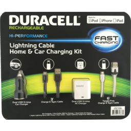 Photo of Duracell Lighting Charge Kit