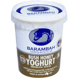 Photo of Barambah Bush Honey Organic Yoghurt 500gm
