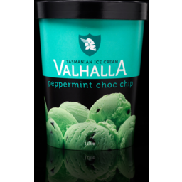 Photo of Valhalla Peppermint Choc Chip 1lt