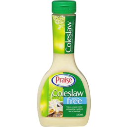 Photo of Praise 99% Fat Free Coleslaw Dressing 330ml
