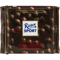 Photo of Ritter Dark Whole Hazelnut