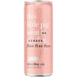 Photo of Squealing Pig Spritzed Rosé Cans 250ml 24 Pack